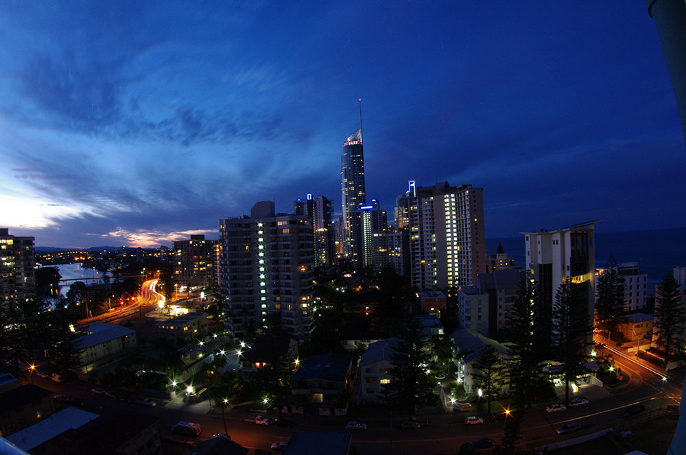 City Views Evening