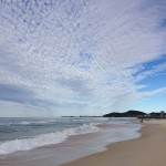 Endless skies and kilometres of beach