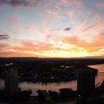 Hinterland Views Sunset
