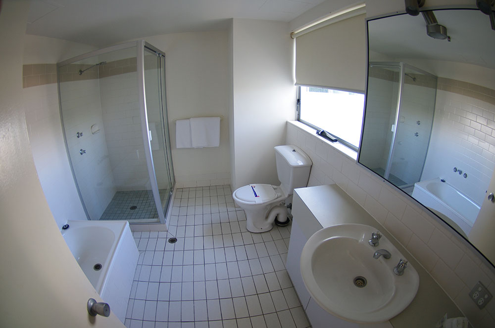 Main Bathrooms have Shower-and-Bath